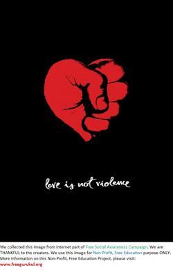 Violence-LoveIsNoViolence