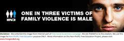 Violence-OneInThreeVictimsOfFamilyViolenceIsMale