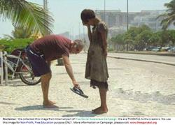 Humanity-HelpingToPoorGirlByChappal